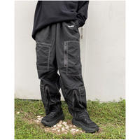 HOLIDAY「ATTACHMENT PANTS」black.
