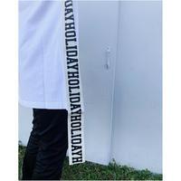 HOLIDAY「SUPER FINE DRY S/S MINI DRESS(TAPE)」white.