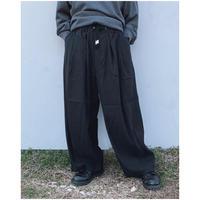 FACCIES「S/L Super wide pants」 black.