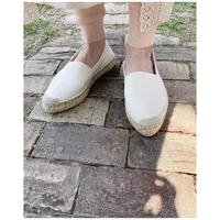 HOLIDAY「DOUBLE SOLE ESPADRILLE」 OFF WHITE