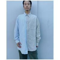 MALION vintage × g.l.c.  「US stripe paint shirts 」G