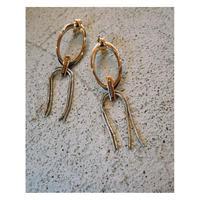 THE Dallas「metal ring earring」