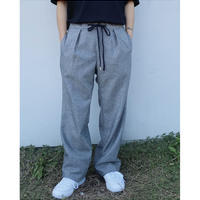 ETHOS「WOOL WILD WIDE PANTS」