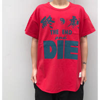 Black Weirdos「The END Pocket Tee RED」
