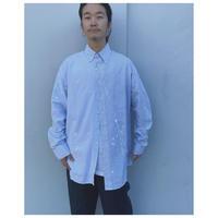 MALION vintage × g.l.c.  「US stripe paint shirts」C
