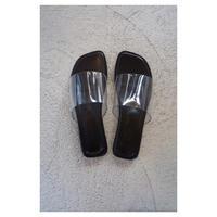 THE Dallas「clear sandals」
