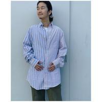 MALION vintage × g.l.c.  「US stripe paint shirts 」I