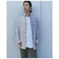 MALION vintage × g.l.c.  「US stripe paint shirts 」D