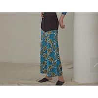 TAN. 「FLOWER MOTIF PANTS」