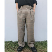 BLACK WEIRDOS「Tailored Wide Pants」
