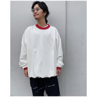 PHINGERIN「TRIMMED SWEAT」