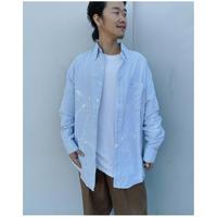 MALION vintage × g.l.c.  「US stripe paint shirts 」N