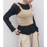 HOLIDAY「TAPE KNIT CAMISOLE」