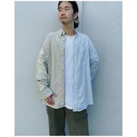 MALION vintage × g.l.c.  「US stripe paint shirts 」J