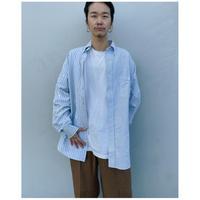 MALION vintage × g.l.c.  「US stripe paint shirts 」L