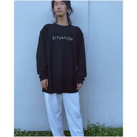 PHINGERIN「SITUATION TEE L/S」black.