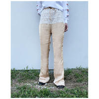 HOLIDAY「LACE FLARE PANTS」