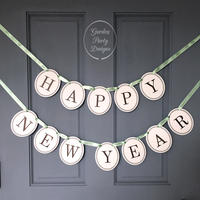 HAPPY NEW YEAR * Garland