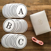 Alphabet Garland Set * 40 Letters