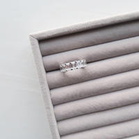 Eternity Ring / Emerald-Cut