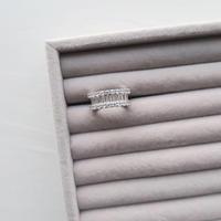 Eternity Ring / Baguette-Cut
