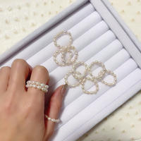 Baby Pearl Eternity Ring