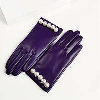Pearl Leather Glove