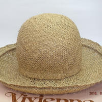 ヴィヴィアンウエストウッド ワールズエンド ボーラーハット ストロー(麦藁帽子)