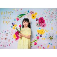 ◆ 数量・期間限定  おうち写真館 hinamatsuri  blossom *名入れ無し【Lサイズ:縦1030 × 横1456 mm】