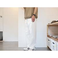 NECESSARY OR UNNECESSARY (NOUN) / PIN TUCK ピンタック 【ホワイト / ユニセックスフリーサイズ】