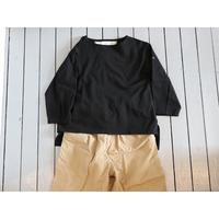 KHA;KI (レディース) / HEM SLIT BASQUE SHIRTS ヘムスリットバスクシャツ