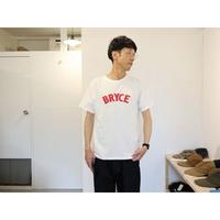 ordinaryfits オーディナリーフィッツ 【ユニセックス】 / PRINT TEE プリント半袖Tシャツ【BRYCE / オフホワイトのみ】
