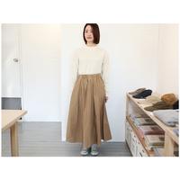 DMG (レディース) / マキシ丈スカート【ベージュ】