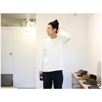 JACKMAN / POCKET L/S TEE ポケット長袖Tシャツ