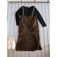 KHA;KI (レディース) / OVER BOA SKIRT オーバーボアスカート
