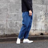 HATSKI(ユニセックス) /  LOOSE TAPERED DENIM ルーズテーパード 【ユーズド・ブルー】