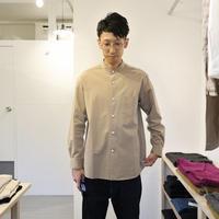maillot / MATURE Stand A Line Shirt【ベージュ /スタンド】