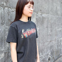 KHA;KI (レディース)  / VINTAGE BLACK TEE ビンテージブラックT【WOMEN ロゴ】