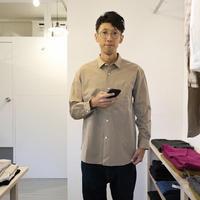 maillot / MATURE REGULSR A Line Shirt  【ベージュ / レギュラー】