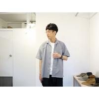 maillot マイヨ 【ユニセックス】 / MATURE RUB COTTON S/S OPENSHIRTS マチュアラブコットン半袖オープンシャツ