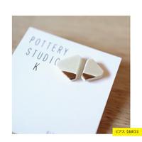 POTTERY STUDIO K / Kakera 金彩 / プラチナ彩【ピアス】