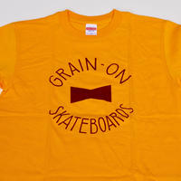 GRAIN-ON Logo T-shirt/Mustard yellow