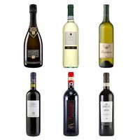 1周年記念 バローロ入り!泡・白・赤ワイン6本セット