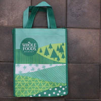 PRINTED TOTE GREEN[S] / WHOLE FOODS