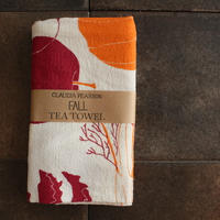 TEA TOWEL FALL / Claudia Pearson