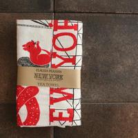 TEA TOWEL NEWYORK / Claudia Pearson