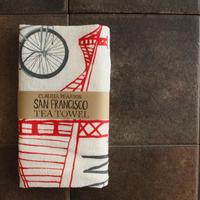 TEA TOWEL SANFRANCISCO / Claudia Pearson