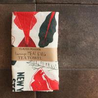 TEA TOWEL MEAT&VEG / Claudia Pearson
