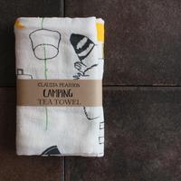 TEA TOWEL CAMPING / Claudia Pearson