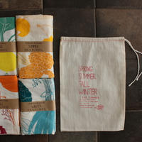 TEA TOWEL 4SEASONS SET / Claudia Pearson